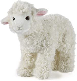 Living Nature Soft Toy - Plush Farm Animal, Large Lamb (28cm) - Realistic Soft Toy with Educational Fact Tags