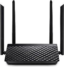 ASUS RT-AC1200 V2 AC1200 Dual Band WiFi Router, Easy 3-Step Setup, 4 LAN Ports, Gaming & Streaming
