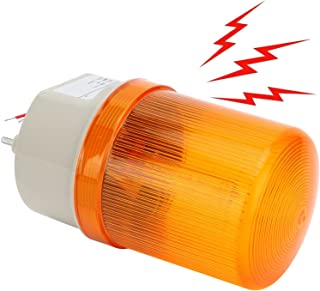 Lätt väckarklocka, nödlarm, starkt alarmljud för förare för kontorsarbetare(yellow, pink)