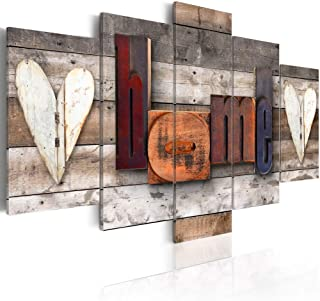 Konda Art-5 Piece Wall Art Modern Abstract Canvas Print Decor Artwork Picture Painting for Bedroom Living Room Bathroom Office Home Decoration