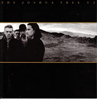 Da Bang U2 - The Joshua Tree Album Cover Art Print Poster 12 x 12