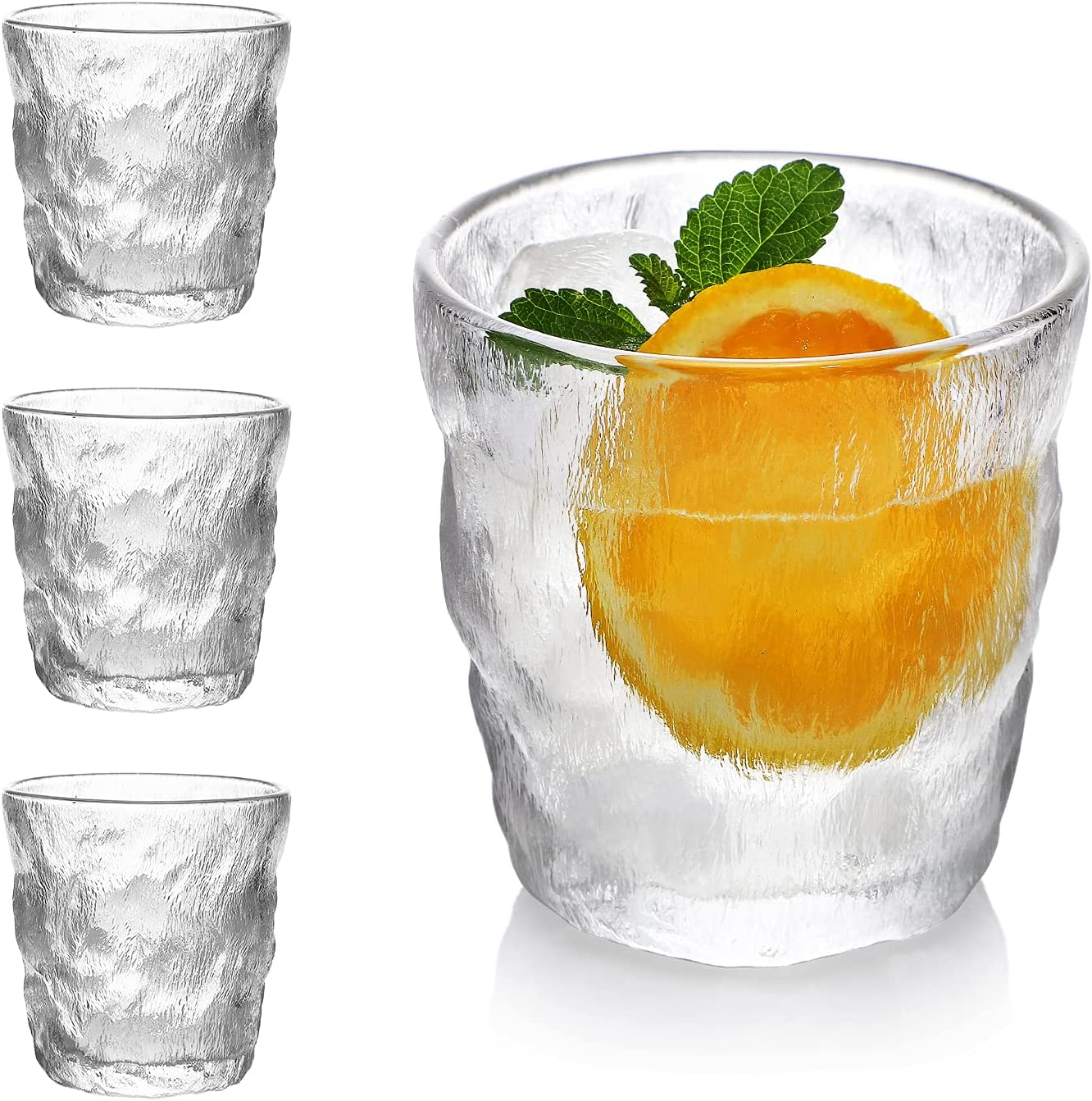 Drinking Glasses Set of 4 Highball Water Max Manufacturer direct delivery 48% OFF Oz. Glass Moder Cups 12