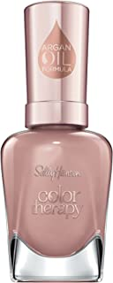 Sally Hansen Color Therapy Nail Polish, Blushed Petal Long-Lasting Nail Polish with Gel Shine and Nourishing Care, 1 Count