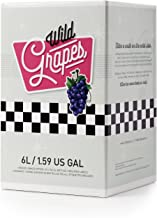 WILD GRAPES Premium Wine Kit - California Cabernet Sauvignon  - Makes up to 30 bottles of wine in 4 weeks