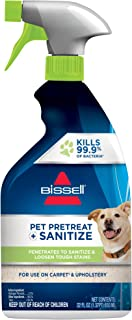 Bissell Pet Pretreat + Sanitize Stain & Odor Remover, 1129