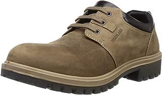 Woodland Men's Gc 2797118sa_Khaki Leather Clogs-9 UK (43 EU) (10 US) 2797118SAKHAKI