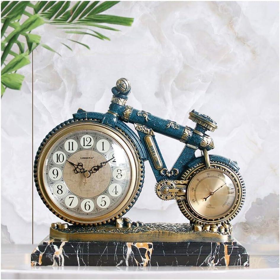 Clock Decoration European-Style Fixed price for sale Living Room Tucson Mall Mute C Retro