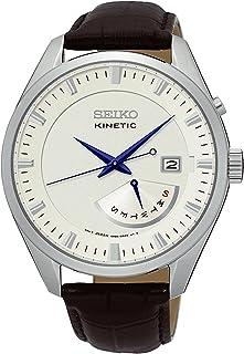 Seiko Orologio Analogico Uomo con Cinturino in Pelle SRN071P1