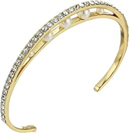 Trapped Pearl Cuff Bracelet