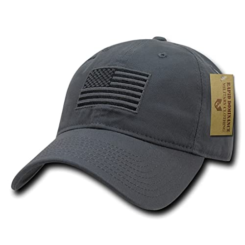 245bdc06a55dd RAPDOM Polo Style American Pride Flag Baseball Caps