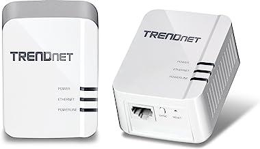Best TRENDnet Powerline 1300 AV2 Adapter Kit, TPL-422E2K, Includes 2 x TPL-422E Powerline Ethernet Adapters, IEEE 1905.1 & IEEE 1901, Gigabit Port, Range Up to 300m (984 ft.), Simple Plug-in Installation Review