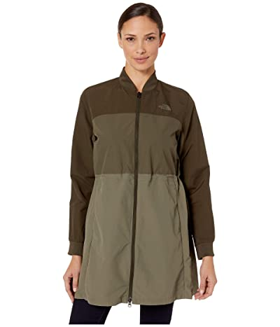 The North Face Flybae Bomber (New Taupe Green Combo) Women