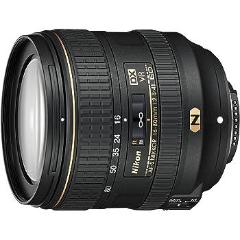 Nikon AF-S DX NIKKOR 16-80 mm 1 - Objetivo (SLR, 17/13, 16 - 80 mm, Nikon, 0,22x, Negro)