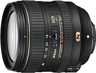 Nikon AF-S DX NIKKOR 16-80 mm 1 - Objetivo (SLR 17/13 16 - 80 mm Nikon 022x Negro)