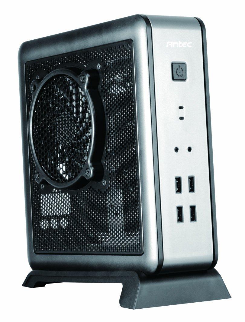 Antec ISK ISK 100-EC Mini ITX - Caja de Ordenador con Fuente de ...