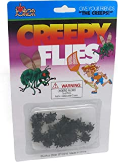 Loftus International Creepy Flies Give Your Friends the Creeps Novelty Item