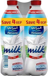 Almarai Plain Full Fat Milk, 1 Liter - Set Of 4