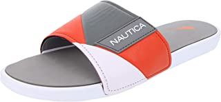 Nautica Men's Gantry Athletic Slide, Strap Comfort Sandal