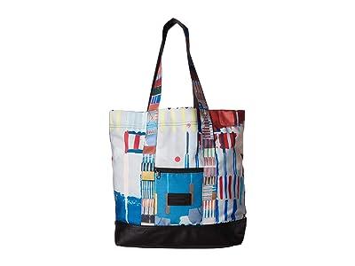 HEX Hex X Push Tote (Multi) Tote Handbags