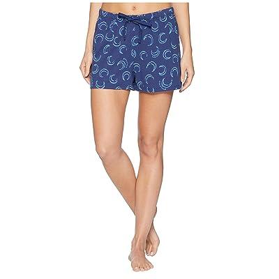 Life is Good Knit Sleep Shorts (Darkest Blue) Women