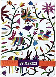 By Mexico, Cuaderno Clasico, Hojas Rayadas, Libreta Tenango 80 hojas