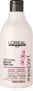 LOreal Paris Serie Expert Vitamino Color Fresh Feel Masque by LOreal Professional for Unisex - 16.9 oz Masque