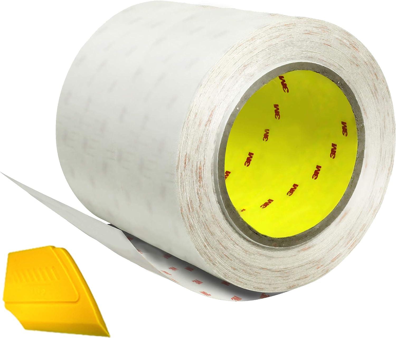 Vvivid 3m Scotchgard Paint Protection Film Transparent 6 X 120 Inches With Detailer Vv3mclearpaintprotect 6x120 Auto