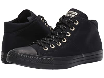 Converse Chuck Taylor All Star Madison Final Frontier Mid (Black/Black/Gold) Women