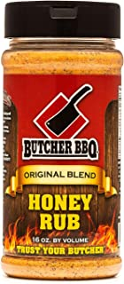 Butcher BBQ Honey Rub   Great for Smoking Ribs   for All Kind of Meat 16oz