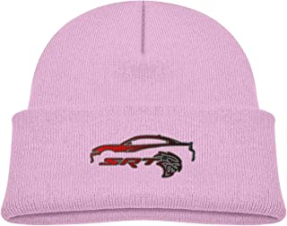 Kids SRT Hellcat Charger Beanie Hats Cute Warm Adjustable Caps for Boys&Girls