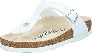 Birkenstock Gizeh, Unisex - Adults Sandals, White (White)
