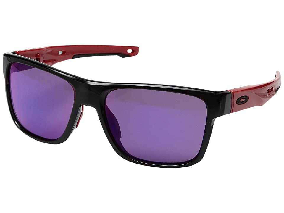 Oakley Crossrange (Black Ink w/ Prizm Road) Fashion Sunglasses