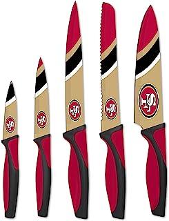 Sports Vault NFL San Francisco 49ers Kitchen Knives