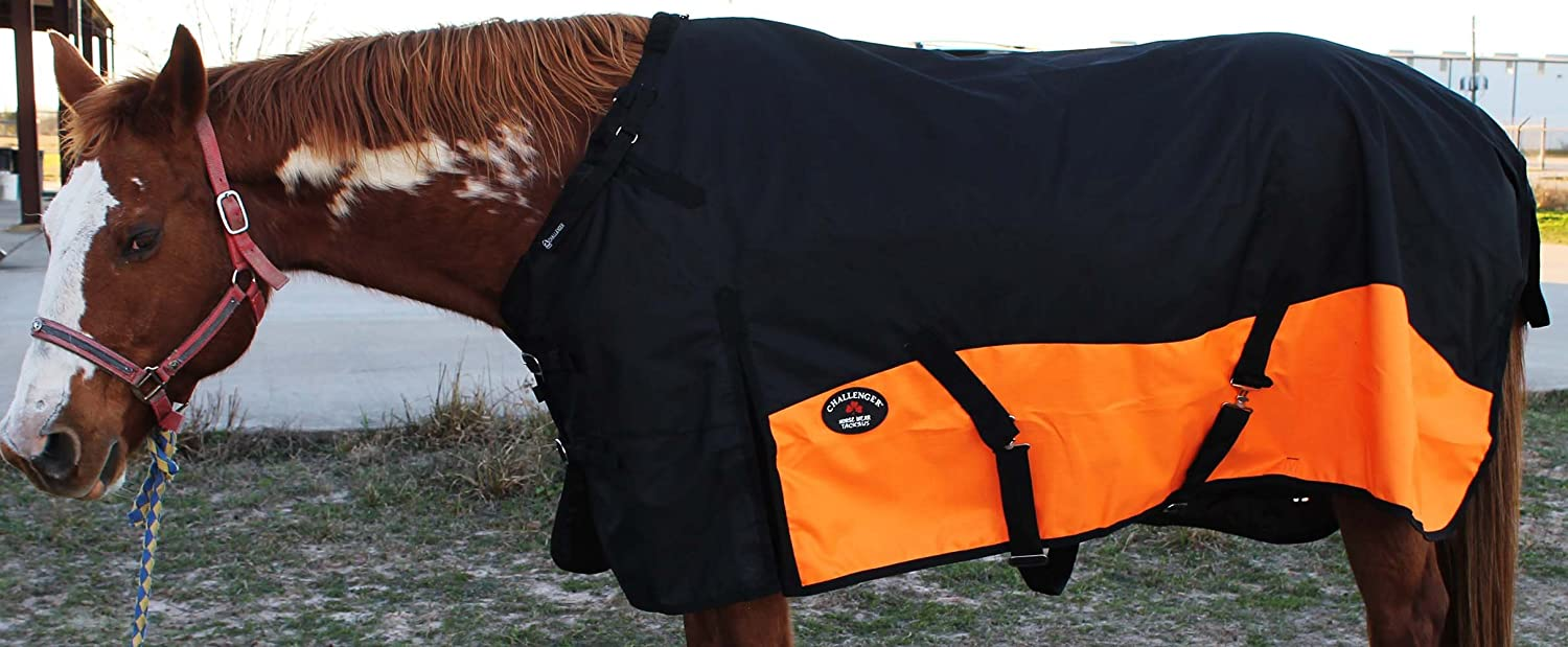 1200D Turnout Horse Sheet Light Winter Blanket 370