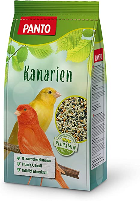 Panto Alimento para Canarios, Paquete de 5 (5 x 1 kg)