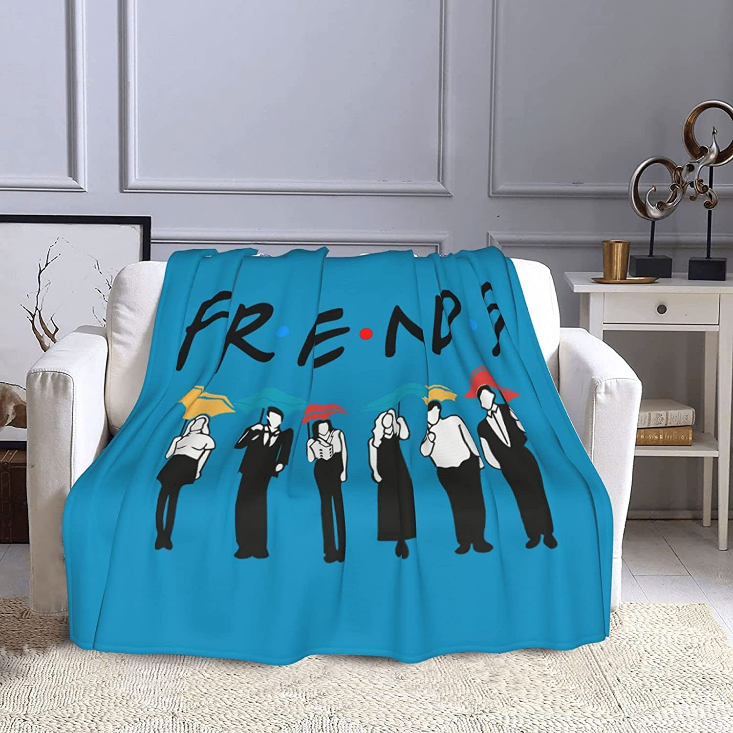 Friends TV Show Blanket Ultra-Soft Blankets An Fleece cheap Selling and selling Throw Warm