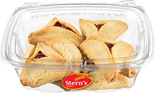 Purim Cookies | Hamentaschen Cookies | Jelly Top Cookies with Raspberry Filling | Shortbread Cookies | Dairy & Nut Free | Mishloach Manot | Purim Gifts Idea | 8 oz Stern's Bakery