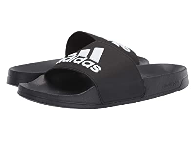 adidas Adilette Shower (Core Black/Footwear White/Core Black) Men