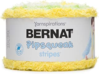 Bernat 16206060019 Pipsqueak Stripes Yarn, Daffodil