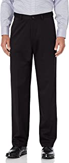 Haggar Men's Work To Weekend PRO Relaxed Fit Flat Front Pant Pants