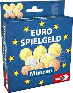 Noris Spiele 606521012– Euro Play Money Coins