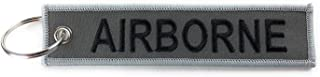 Military Tab Keychains RANGER AIRBORNE SPECIAL FORCES