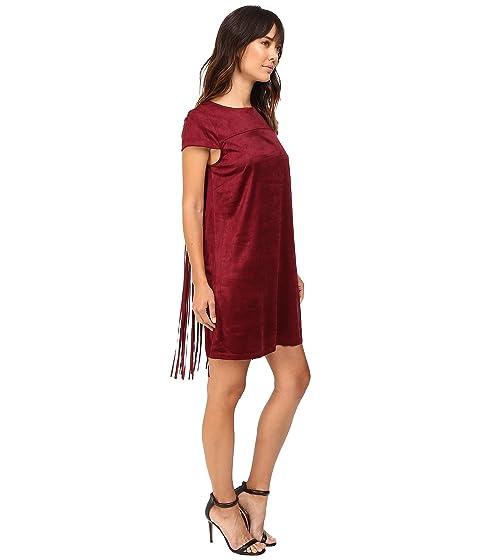 Suede Faux KS9K7131 kensie Dress Drapey p54EFE