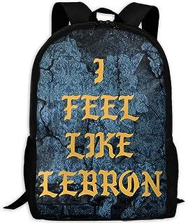 I FEEL LIKE LEBRON Interest Print Custom Unique Casual Backpack School Bag Travel Daypack Gift