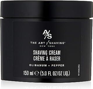 The Art of Shaving Shaving Cream for Men - Shaving Cream Mens Beard Care, Protects Against Irritation and Razor Burn, Clin...