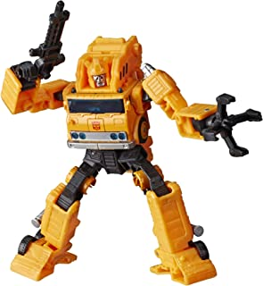 Transformers Toys Generations War for Cybertron: Earthrise Voyager WFC-E10 Autobot Grapple Action Figure - Kids Ages 8 and Up, 7-inch