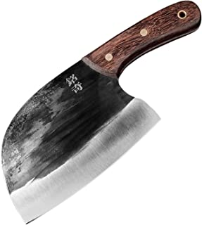 Feuille Steel Ménage Main Madmade Cuisine Dame Petite Légumes Couteau de Légumes Outil de coupe Viande Slicer traditionnel...