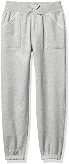 Nautica Girls' Sensory-Friendly Soft Fleece Sweatpants
