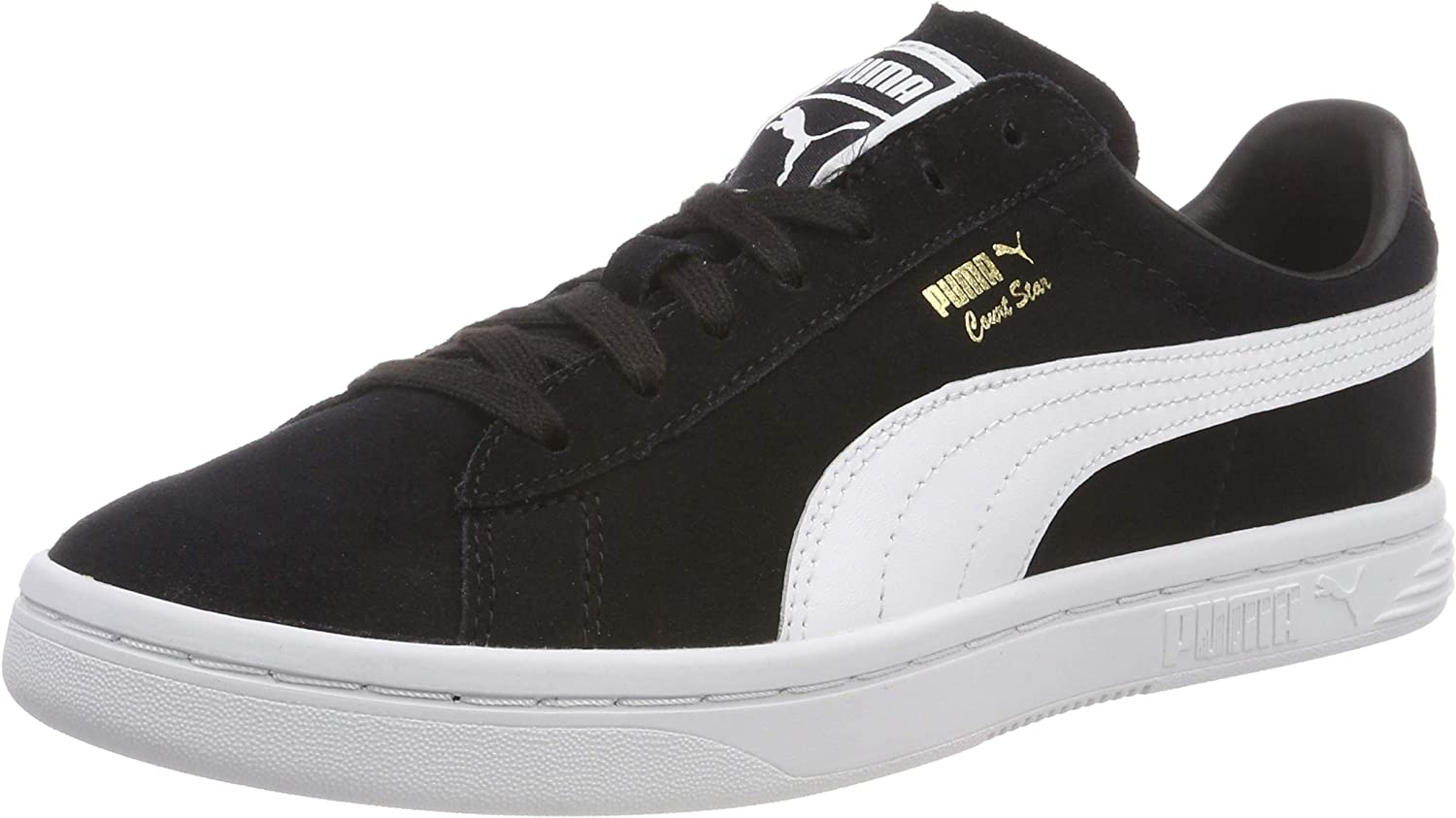 PUMA Unisex Adults' Court Star Fs Low-Top Sneakers Black