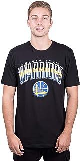 UNK NBA Men's T-Shirt Arched Plexi Short Sleeve Tee Shirt, Black